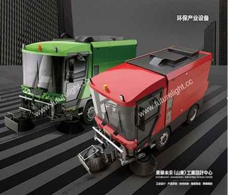城市扫地车设计