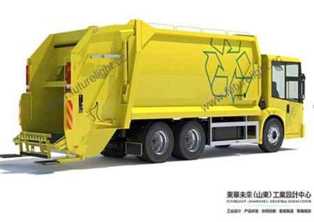 山东垃圾清运车设计公司