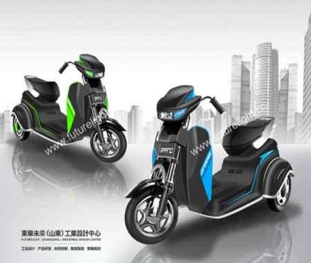 电动车工业设计