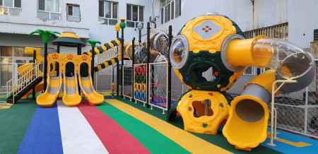 上海幼儿园滑梯生产厂家