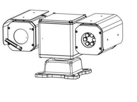 低功耗网络高清红外双目云台摄像机MG-HP1-R-NH2