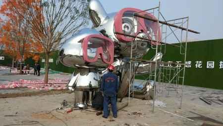 自贡大型不锈钢雕塑哪家好
